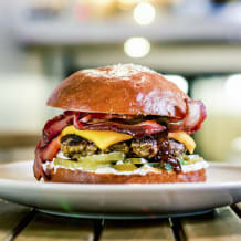 Photo of menu item: BBQ Bacon Cheeseburger