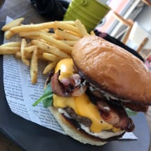 Photo of menu item: Eleven11 Beef Burger