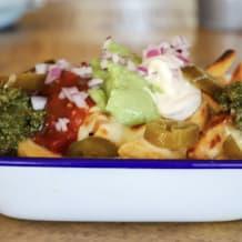 Photo of menu item: Guacamole Loaded fries