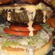 Photo of menu item: AMERICAN BEEF BURGER