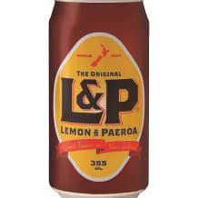 Photo of menu item: L&P drink - 355 ml can