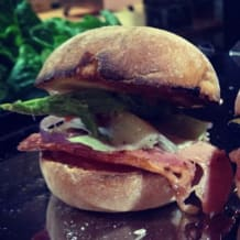 Photo of menu item: Smoky Maple Bacon