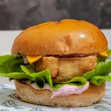 Photo of menu item: Fried Fish Burger