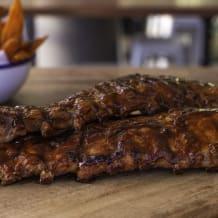 Photo of menu item: American pork Ribs - full rack