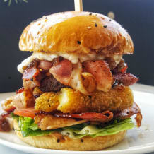 Photo of menu item: The Beefy Bacon