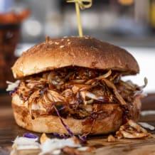 Photo of menu item: Vegan Pulled Pork