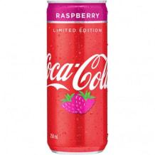 Photo of menu item: Coke Rasberry