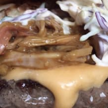 Photo of menu item: Carolina Gold Burger