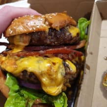 Photo of menu item: The Bacon + Cheese