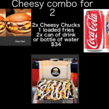 Photo of menu item: The Cheesy Combo For Two