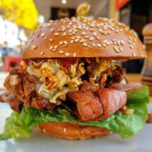 Photo of menu item: Schnitzel Burger