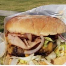 Photo of menu item: Aussie Burger