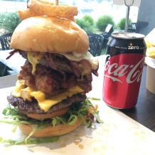 Photo of menu item: Gorilla Burger