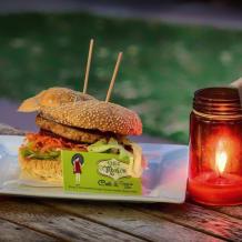 Photo of menu item: Chez Monica Beef Burger