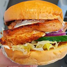 Photo of menu item: Greek Chicken Burger