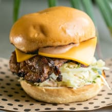 Photo of menu item: The Chook Burger