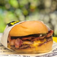 Photo of menu item: BBQ BACON CHEESEBURGER SINGLE