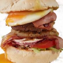 Photo of menu item: The Bella Burger