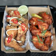 Photo of menu item: Hickory BBQ Wings