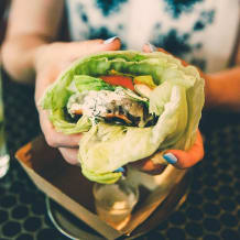 Photo of menu item: Go Naked Burger (gf)