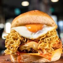 Photo of menu item: Mi Goreng Burger 🍔 🤗