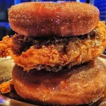 Photo of menu item: FRIED CHICKEN & DONUT