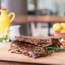 Photo of menu item: Aussie lamb ribs - half rack