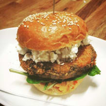 Photo of menu item: Kids Veggie Burger