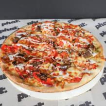 Photo of menu item: Lamb Deluxe Pizza