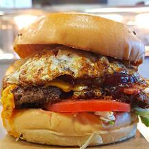 Photo of menu item: Works Burger