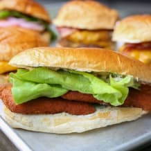 Photo of menu item: FISH BURGER
