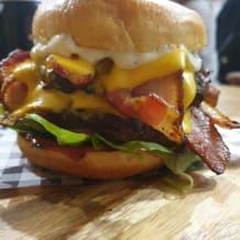 Photo of menu item: Badass Burger