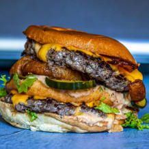 Photo of menu item: Burger Mack