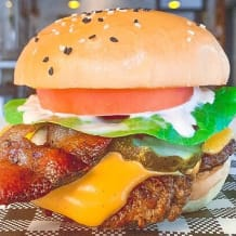 Photo of menu item: The Secret Burger