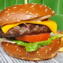 Photo of menu item: The Merc Burger