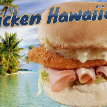 Photo of menu item: Chicken Hawaiian Burger