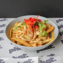 Photo of menu item: Calamari and Chips