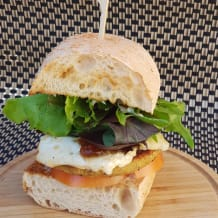 Photo of menu item: Haloumi Burger