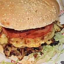 Photo of menu item: Bazinga Beef Burger