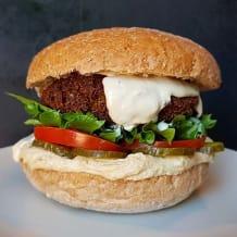 Photo of menu item: Falafel burger