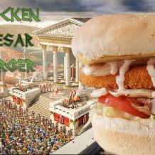 Photo of menu item: Chicken Caesar Burger
