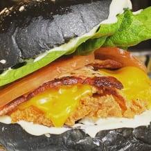 Photo of menu item: The Cluckdown Burger