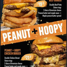 Photo of menu item:  PEANUT AND HOOPY