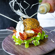 Photo of menu item: The Matterhorn