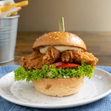 Photo of menu item: Fried BP Chicken & Chips