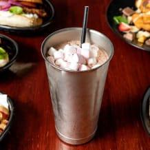 Photo of menu item: Nutella and Marshmallow Shake