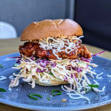 Photo of menu item: burger special