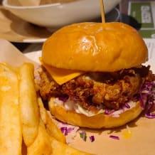 Photo of menu item: Southern Fried Chicken Burger