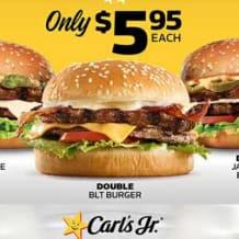 Photo of menu item: Double BLT Burger