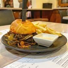 Photo of menu item: Pizza Burger